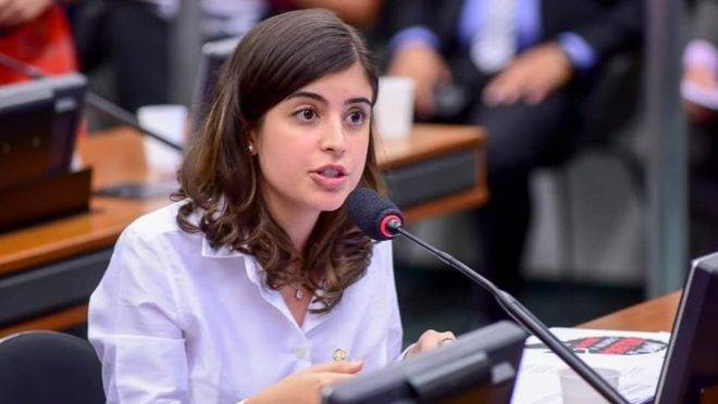 deputada Tabata Amaral concordou com o presidente Bolsonaro