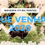 PELA PRIMEIRA VEZ, Ibovespa supera 117 mil pontos