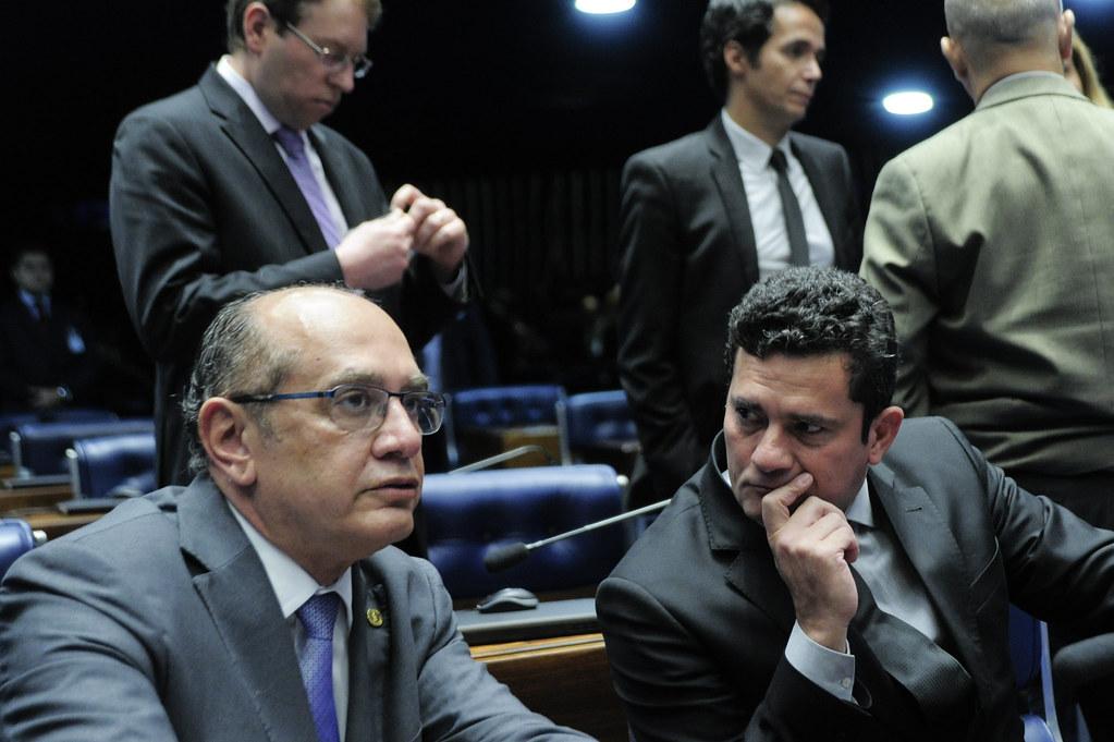 Gilmar Mendes, ministro do STF, proferiu seu voto favorável à suspeição de Sergio Moro